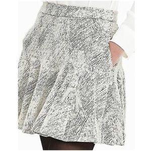 BANANA REPUBLIC | Jacquard Fit & Flare Skirt